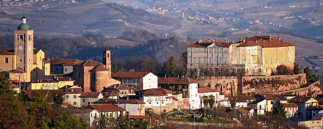 Panorama estivo di Sommariva Perno